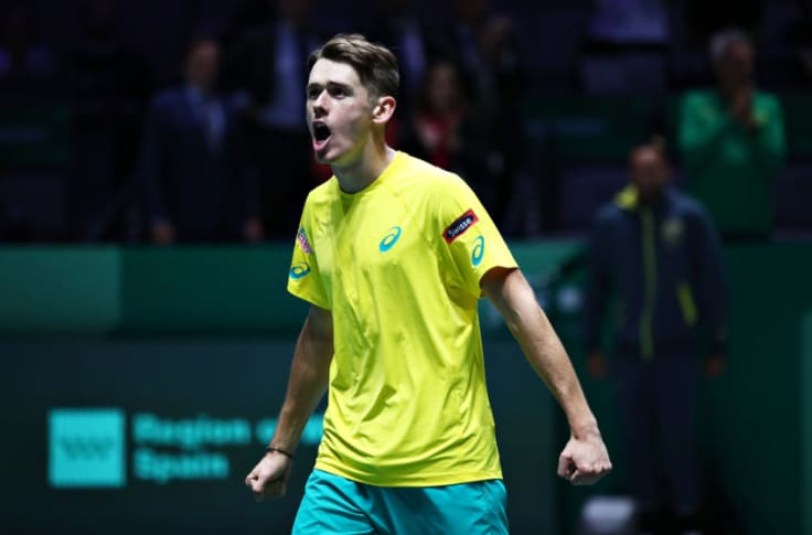 Alex De Minaur Australian Youngster Ready To Mix It With The Top Atp Stars