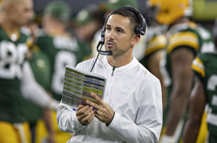 Packers Matt Lafleur Should Be A Candidate For Coach Of The Year
