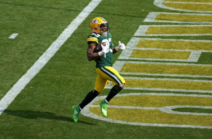 Packers Aaron Jones Game Time Decision Robert Tonyan To Play