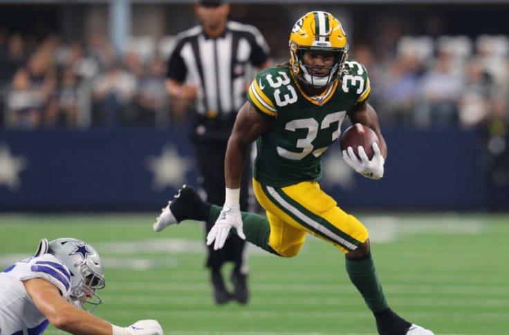 Packers Aaron Jones In Top Five Of Pff Running Back Rankings For 2020
