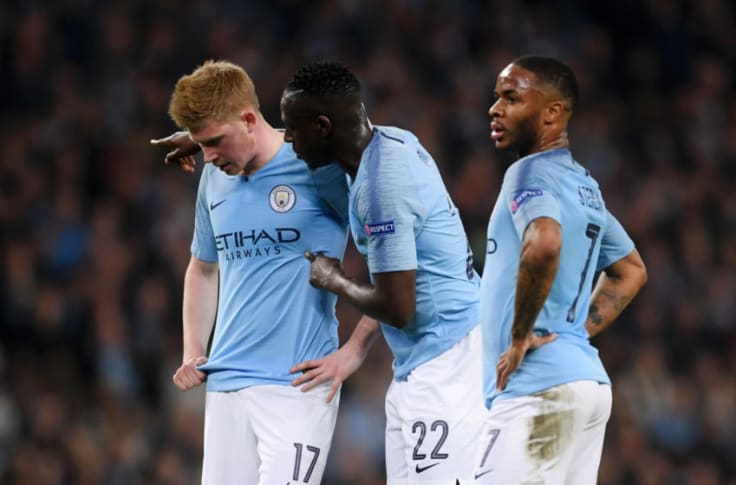 Manchester City 4 Tottenham 3 Out Of Europe