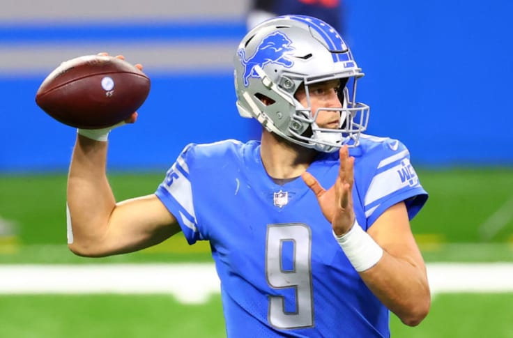 Patriots Nfl Insider Thinks Matthew Stafford Could Be Option For Pats In Offseason