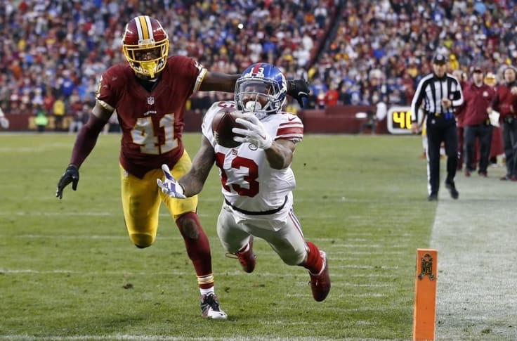 New York Giants Is Odell Beckham Underrated