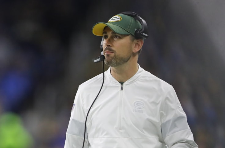 Green Bay Packers Matt Lafleur An Early Coach Of The Year Favorite