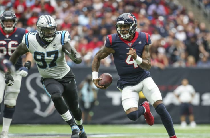 Panthers could get aggressive in Deshaun Watson trade talks