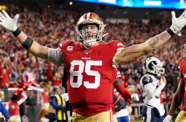 49ers: We should have seen George Kittle's meteoric rise coming