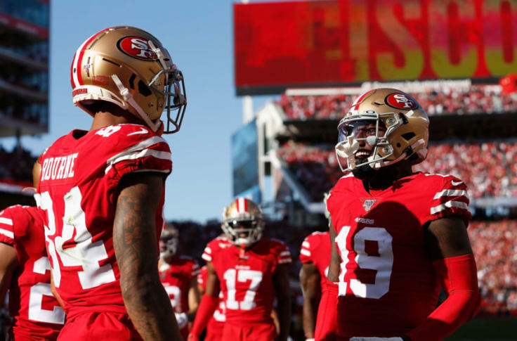 49ers News Pro Football Focus Ranks Niners Wide Receivers 25th