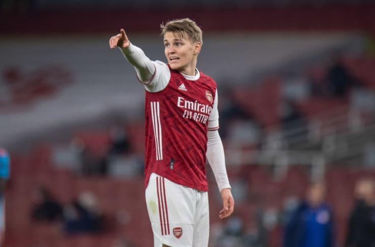 Arsenal handed massive Martin Odegaard transfer boost