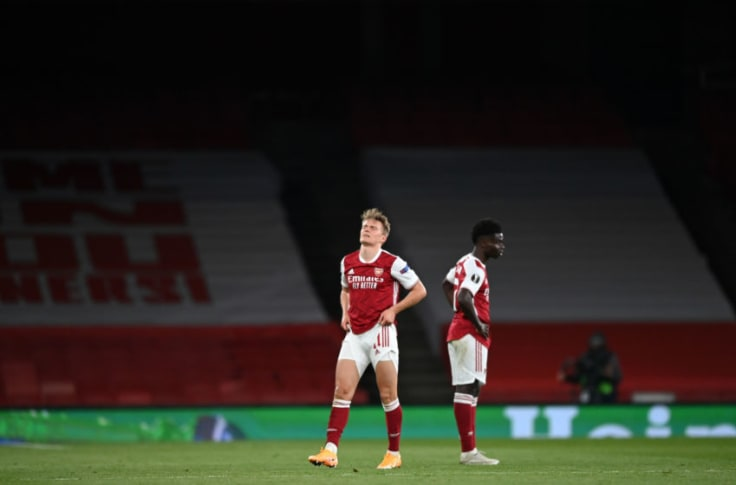 Arsenal player ratings vs Villarreal: Devastating Europa League exit