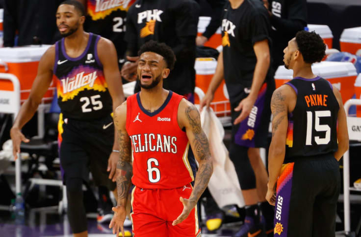 New Orleans Pelicans Kira Lewis Jr Should Get Some Of Naw S Minutes
