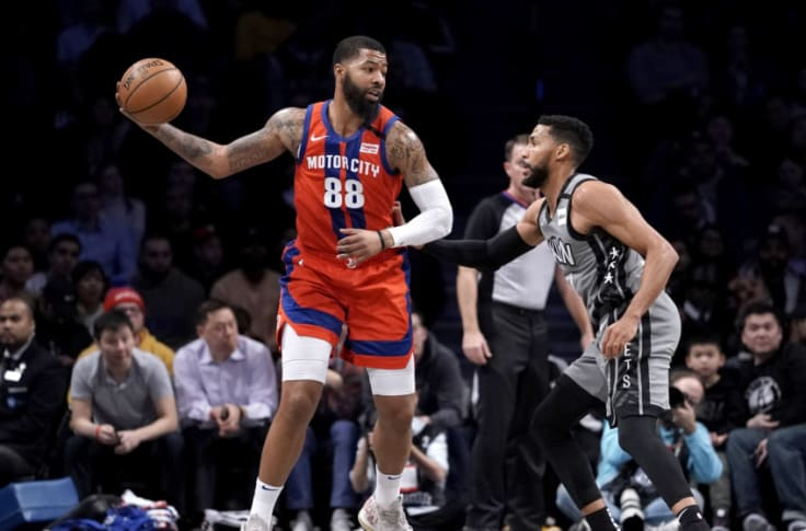 Pistons Buyout Markieff Morris Could Join Former Pistons In Los Angeles