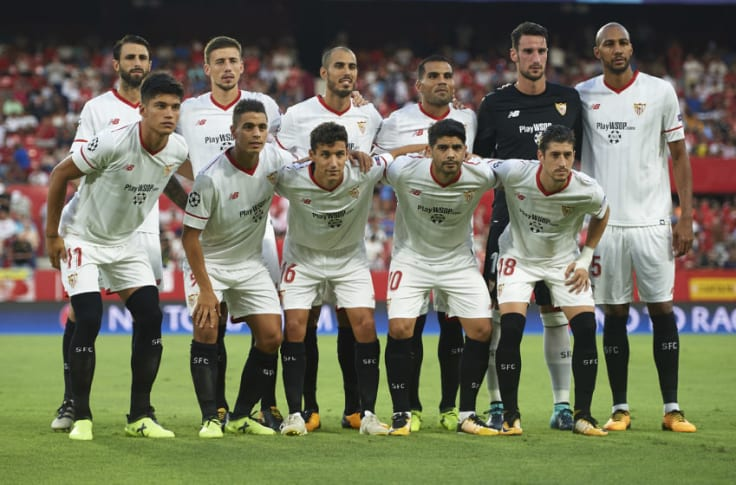Sevilla S Projected Starting Xi V Liverpool
