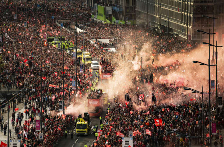 Liverpool: How many people attended the Champions League parade?