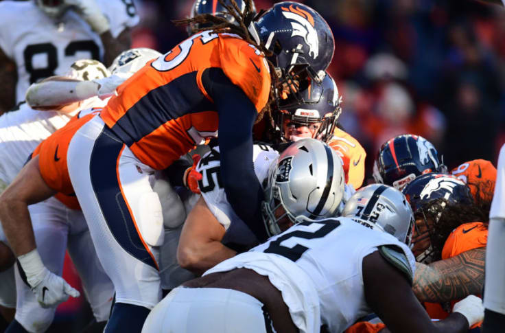 Denver broncos oakland raiders betting line all roulette betting systems