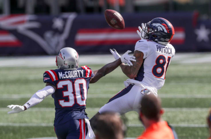 Has Tim Patrick found his niche with the Denver Broncos?