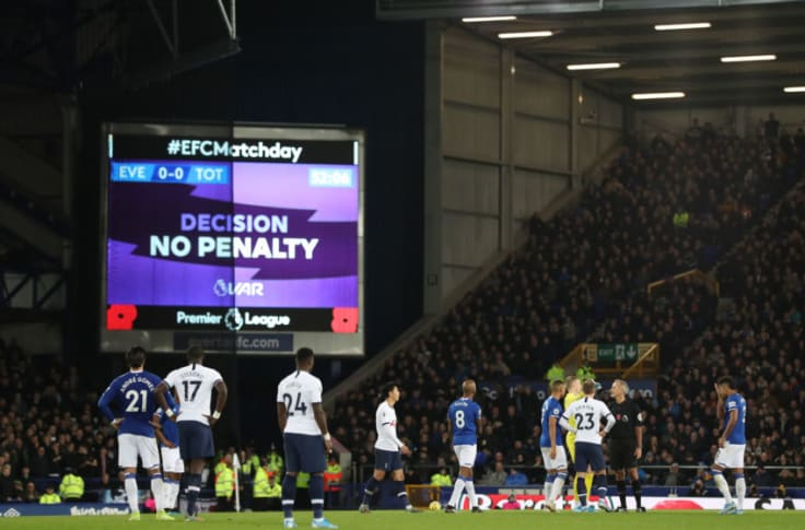 Finally Everton Have Decided To Write To Fa Over The Affect Of Var