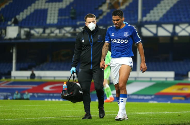 Allan Injured What Will Everton Miss Against Brighton