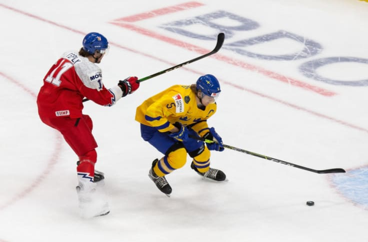 Philip Broberg Leaving Edmonton Oilers Fans Salivating With 2021 Wjc Showing