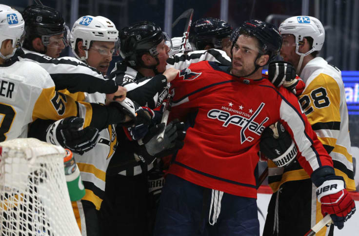 Washington Capitals Perfect Villain Tom Wilson Sparks Mass Opinion Yet Again