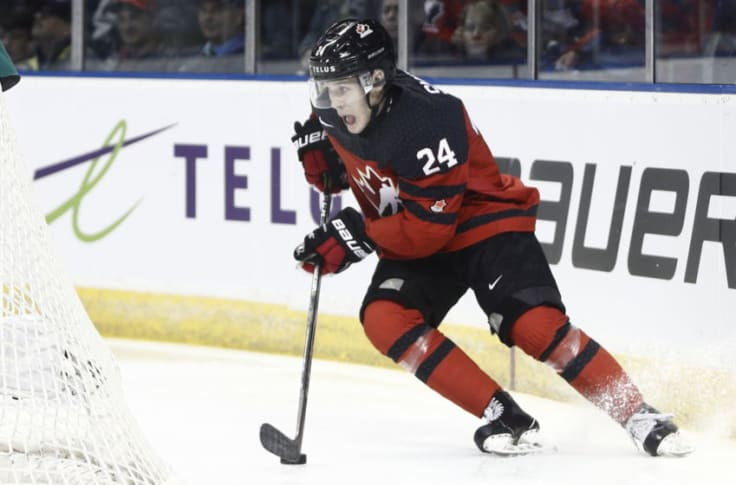 New Jersey Devils At The World Juniors