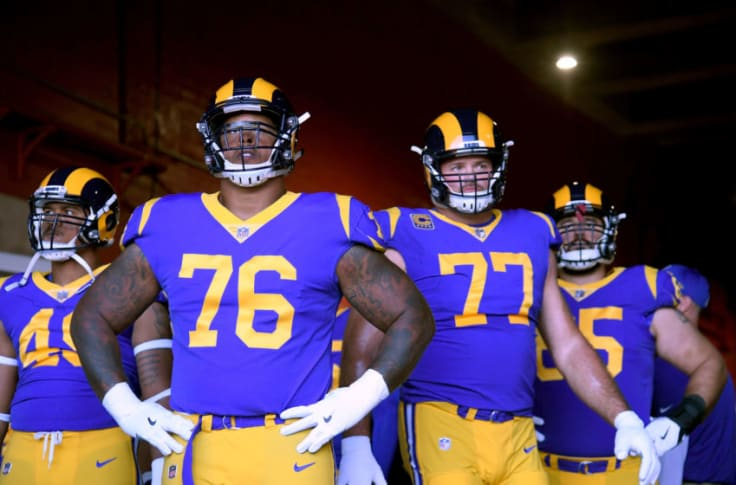 Nfl Rumors La Rams Bringing Back Andrew Whitworth For 2020