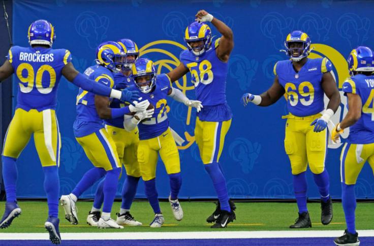 La Rams Will Unleash Bone Jersey W Sol Pants On Jets