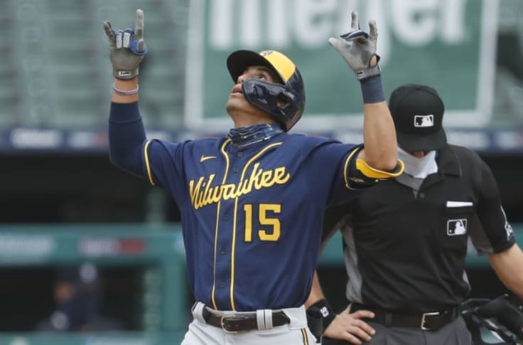 Brewers: Taylor Named Team's Mostly Likely Candidate for 2021 ROY