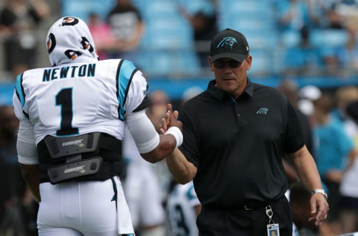 Ron Rivera right not to pursue Cam Newton unless the situation is ...