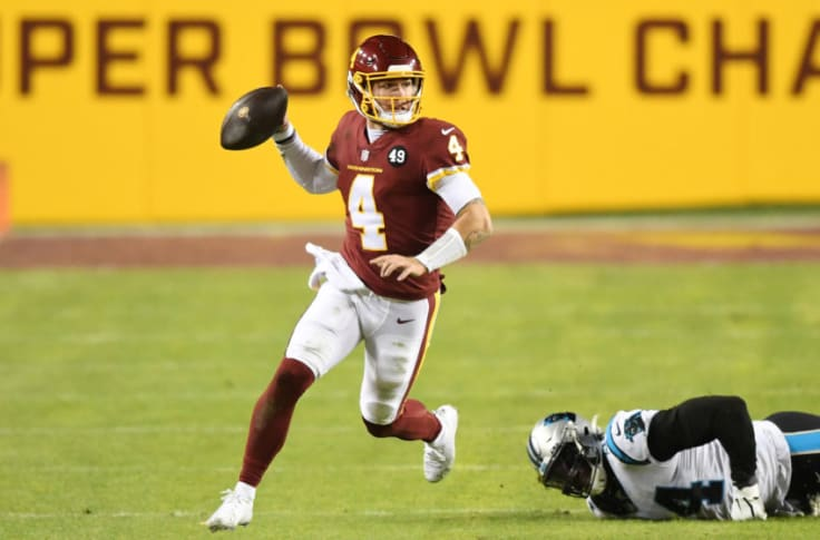Washington Football Team Taylor Heinicke Has Real Chance Of Starting