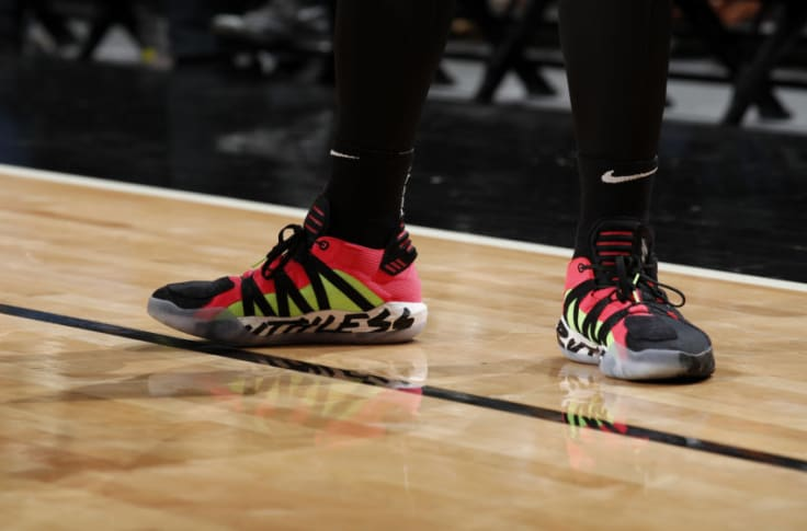 Trail Blazers Damian Lillard S Signature Ruthless Shoe Now In Stores