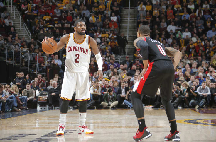 Who S The Better Point Guard Damian Lillard Or Kyrie Irving