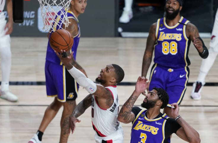 Trail Blazers Vs L A Lakers Injury Update Viewing Details