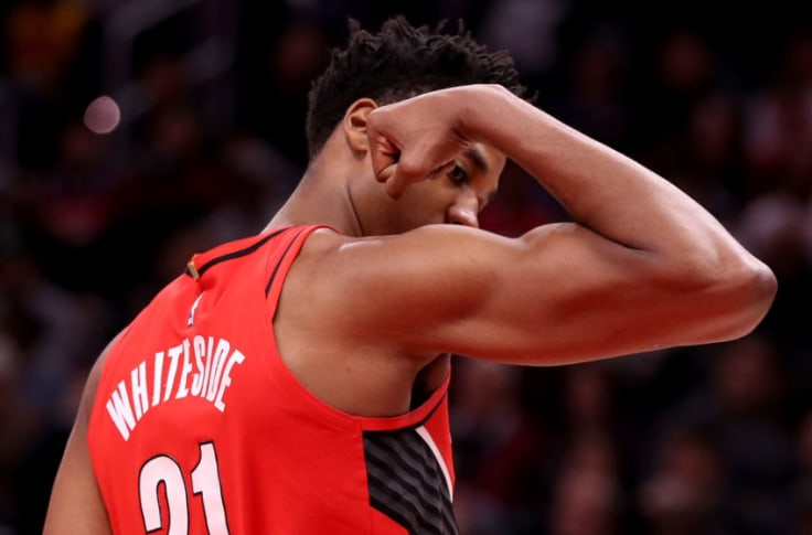 Portland Trail Blazers Trail Blazers: Hassan Whiteside is a secret weapon in the Orlando ...