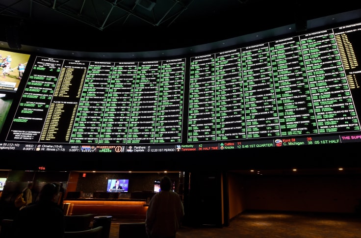 world series betting line vegas