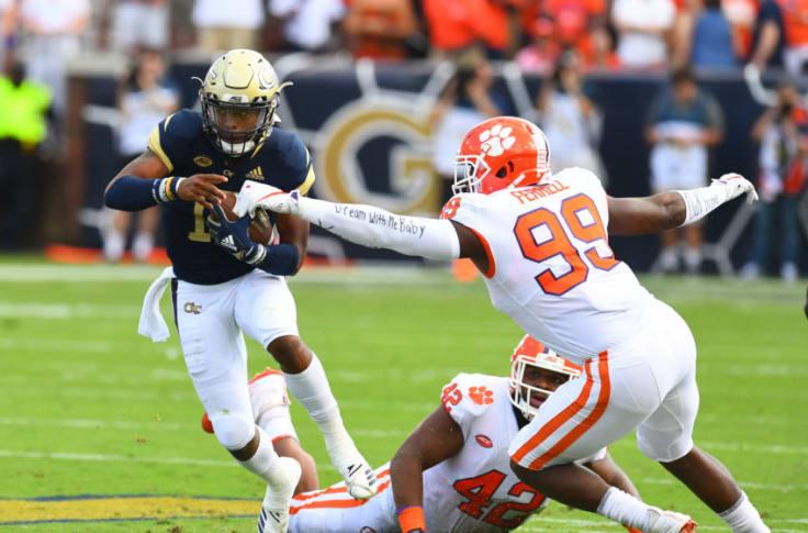 Clemson Football Early Opponent Analysis Vs Georgia Tech 2019