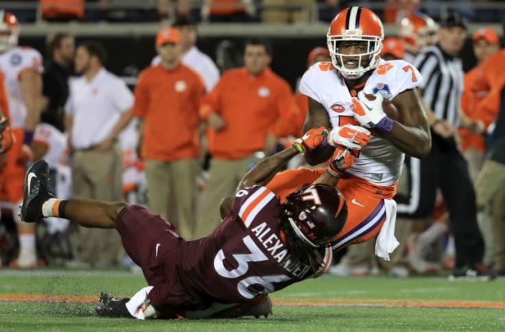 Clemson Football Touchdown Favorite Over Virginia Tech