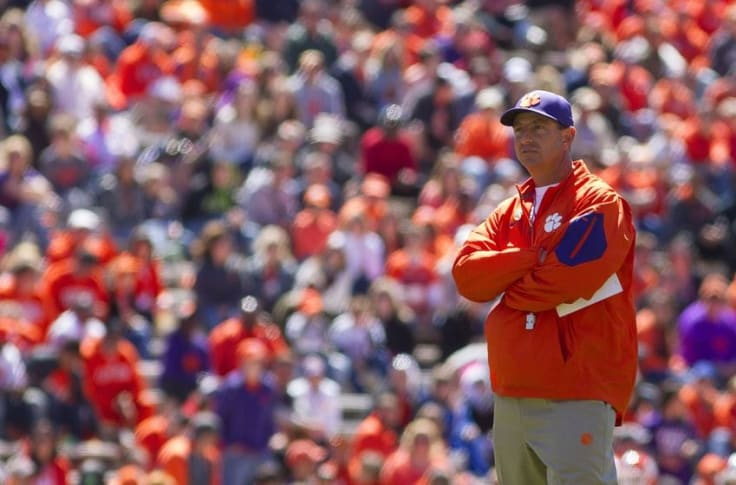 Clemson Gives Dabo Swinney 6 Year Extension Top 10 Salary