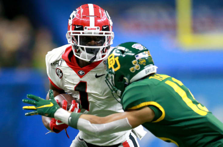 Georgia Football Way Too Early Game By Game Predictions For 2020