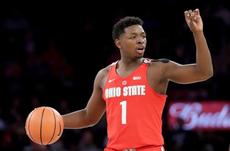 Former Ohio State forward Jae'Sean Tate signs with Rockets