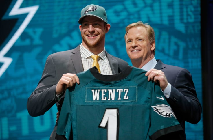 Philadelphia Eagles: The Browns probably should've drafted Carson Wentz