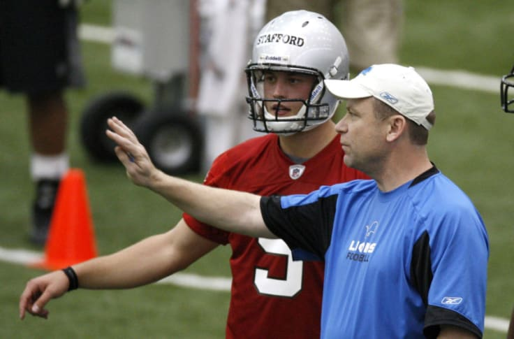 Detroit Lions Could Matthew Stafford And Scott Linehan Reunite