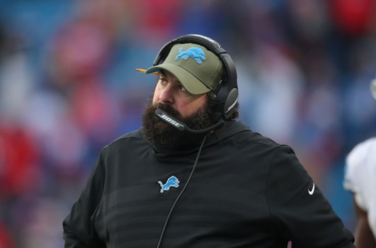 Detroit Lions: Can Matt Patricia afford another losing season?