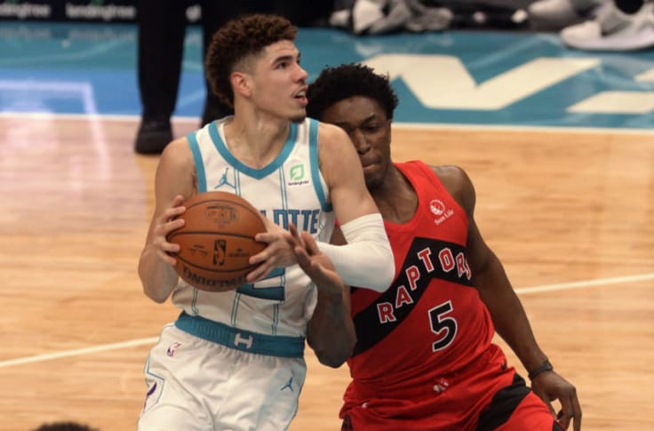 Charlotte Hornets Lamelo Ball Should Be The Starting Point Guard