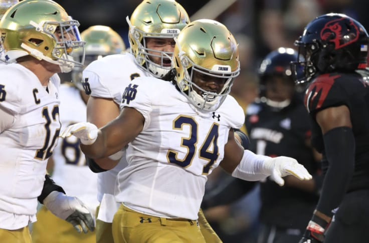 A Look At The Notre Dame Running Backs Heading Into 2020