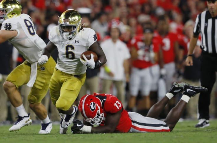 Notre Dame Football Vs Michigan Running Back Comparison