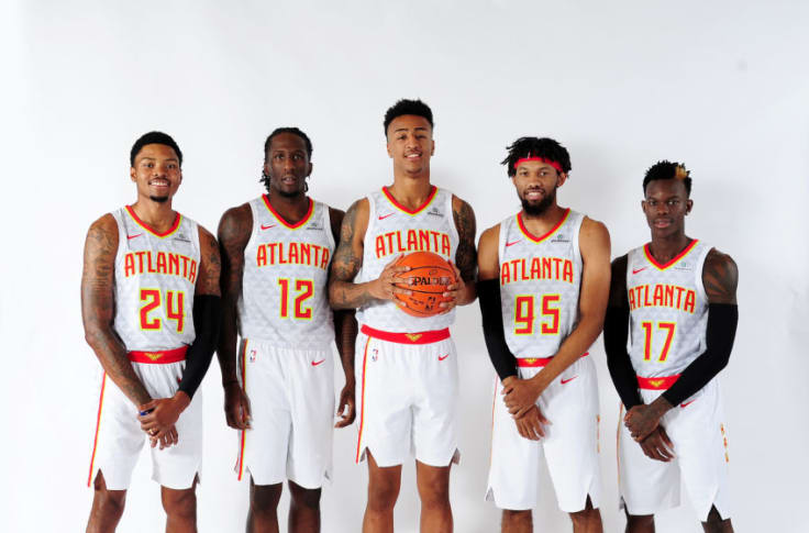 Atlanta Hawks Projected Starting Lineup For 2018 2019 Season Page 2