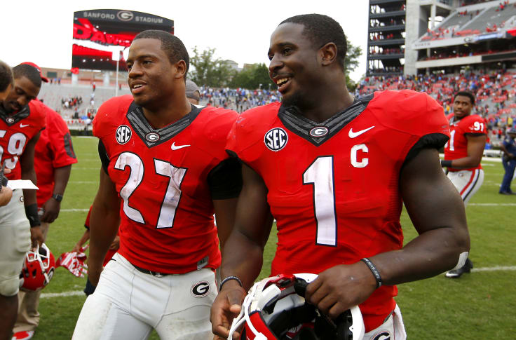 Georgia Bulldogs Have The Best Running Back Duo In College Football
