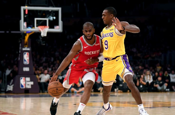 Houston Rockets Chris Paul Doesn t Care About Rematch With Rajon Rondo
