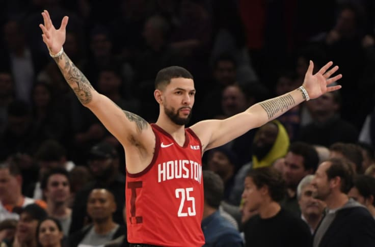 Rockets Austin Rivers Talks Top 5 Players Ever Playing With Westbrook
