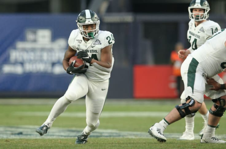 Michigan State Football Audric Estime Putting Up Video Game Like Numbers